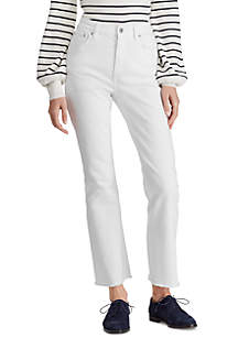 Lauren Ralph Lauren Regal Flare Ankle Jeans