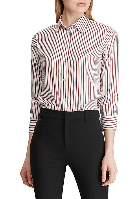 Lauren Ralph Lauren No-Iron Button-Down Shirt