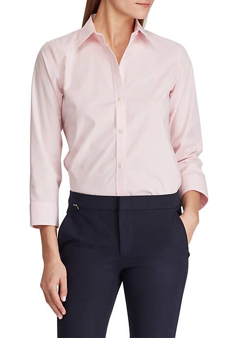 Lauren Ralph Lauren No Iron Button Down Shirt