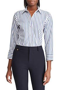 37fcc794854 ... Lauren Ralph Lauren No-Iron Striped Button-Down Shirt