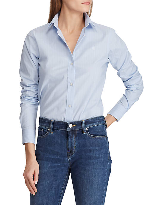 Lauren Ralph Lauren Embroidered Button-Down Shirt