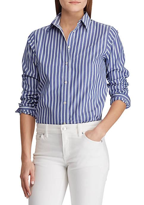 Lauren Ralph Lauren Embroidered Button-Down Shirt