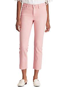 Lauren Ralph Lauren Premier Skinny Ankle Jean