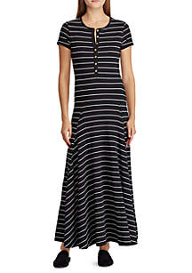 632defbd52e ... Lauren Ralph Lauren Jersey Striped Maxidress