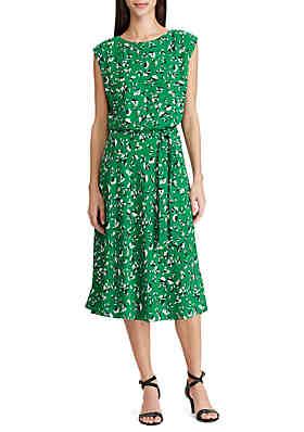 a32277f003b4 Lauren Ralph Lauren Floral Georgette Dress ...