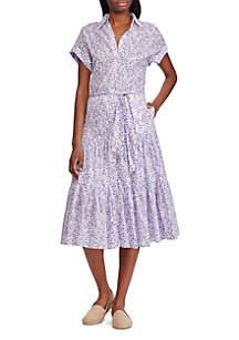 Lauren Ralph Lauren Tiered Hem Dress