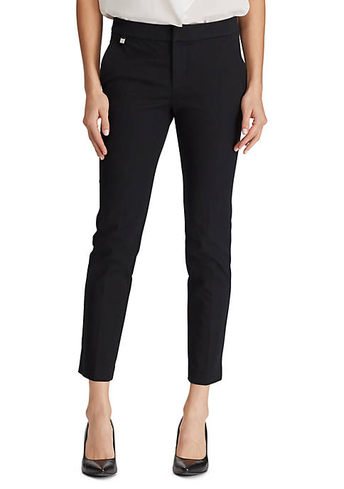Lauren Ralph Lauren Cotton Twill Skinny Pants