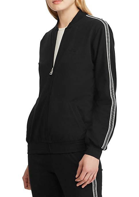 Lauren Ralph Lauren Cotton Blend Bomber Jacket