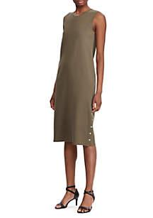 Lauren Ralph Lauren Sleeveless Midi Dress