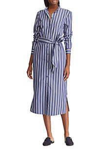108c0feb2580 Lauren Ralph Lauren Floral Fit-and-Flare Dress · Lauren Ralph Lauren  Striped Cotton Shirt Dress