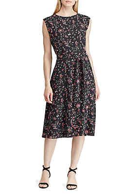 dab5b37617 Lauren Ralph Lauren Print Fit-and-Flare Dress ...