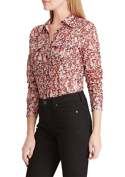 Lauren Ralph Lauren Cotton Voile Shirt