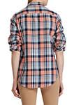 Rimnan Long Sleeve Plaid Shirt