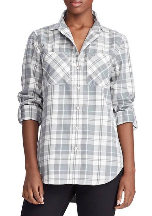 Lauren Ralph Lauren Cotton Twill Shirt