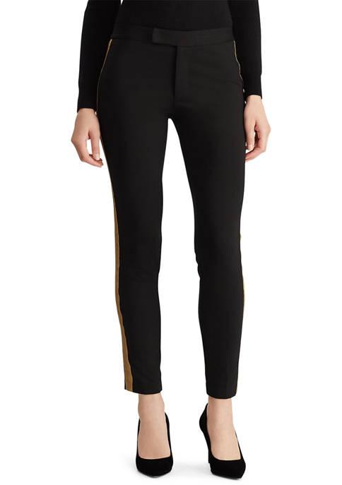 Lauren Ralph Lauren Metallic Trim Ponte Pants