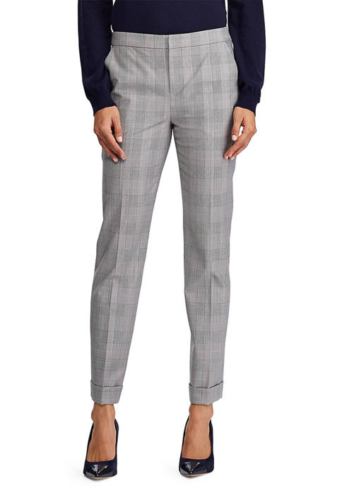 Lauren Ralph Lauren Straight Wool-Blend Dress Pant
