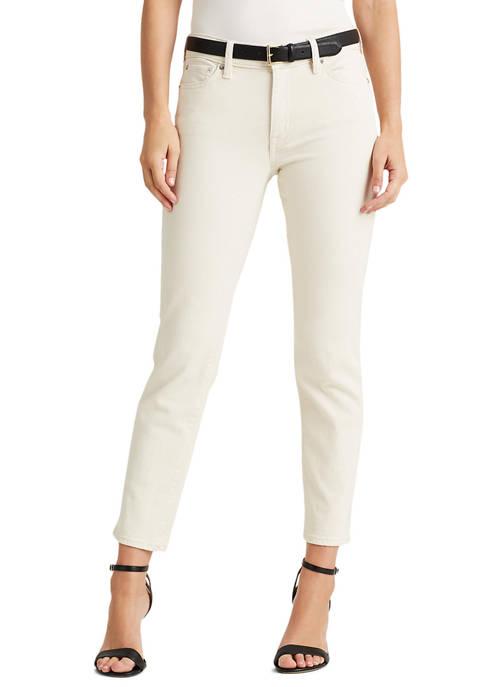 Lauren Ralph Lauren Premier Straight Ankle Jeans