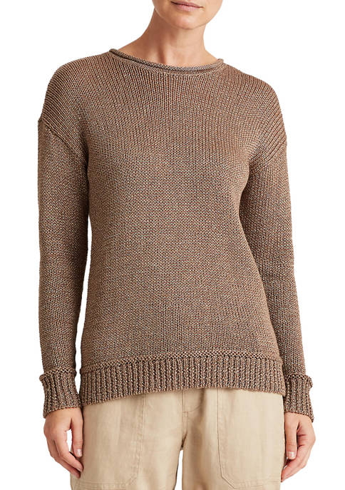 Lauren Ralph Lauren Cotton-Blend Sweater