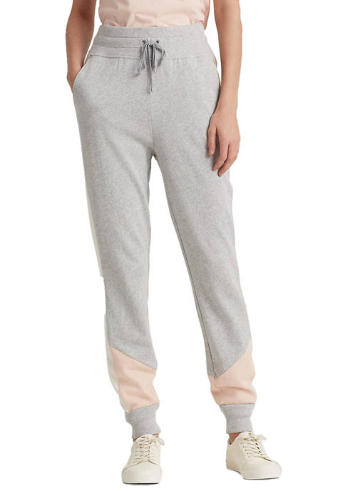 Lauren Ralph Lauren Three-Tone French Terry Pant