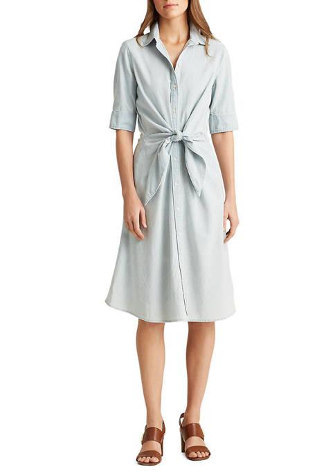 Lauren Ralph Lauren Chambray Shirtdress