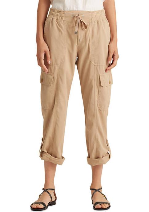 Lauren Ralph Lauren Cotton Twill Cargo Pant