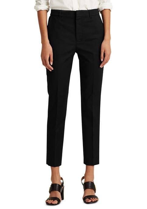 Lauren Ralph Lauren Stretch Cotton-Blend Pant