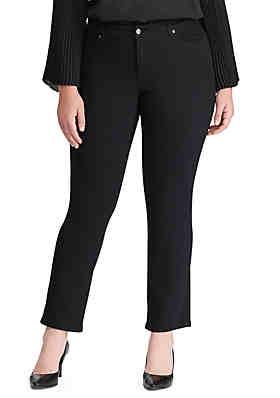 884a2033eeb Lauren Ralph Lauren Plus Size Premier Modern Slim Jean ...