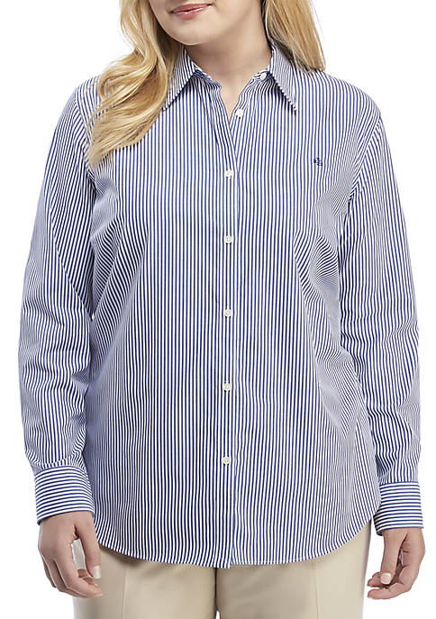 Lauren Ralph Lauren Plus Size Aaron Long Sleeve