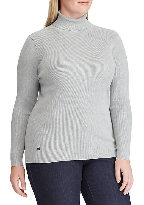 Lauren Ralph Lauren Plus Size Amanda Turtleneck Sweater