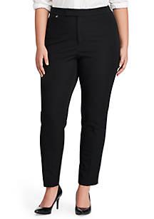 0a17e6b7bcc11 Lauren Ralph Lauren. Lauren Ralph Lauren Plus Size Stanyslav Stretch Twill  Skinny Pants
