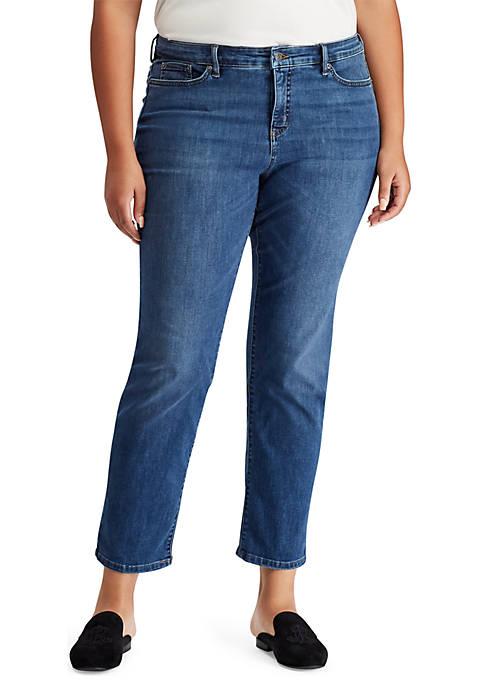 Lauren Ralph Lauren Plus Size Slim Jeans