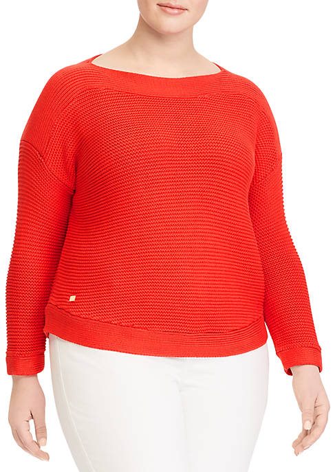 Lauren Ralph Lauren Plus Size Long Sleeve Sweater