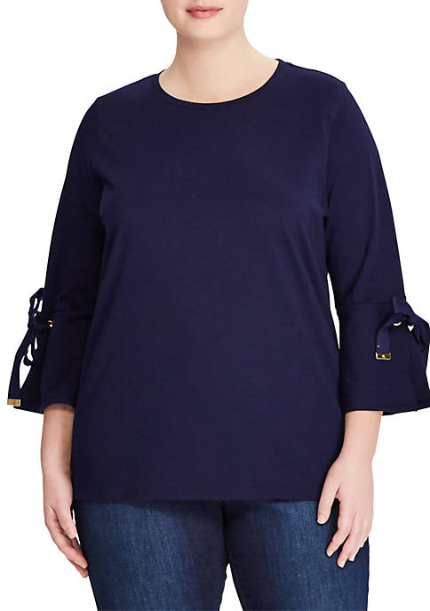 Lauren Ralph Lauren Lesley 3/4 Sleeve Knit Top