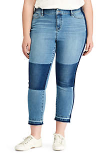 Plus Size Premier Straight Crop Jeans