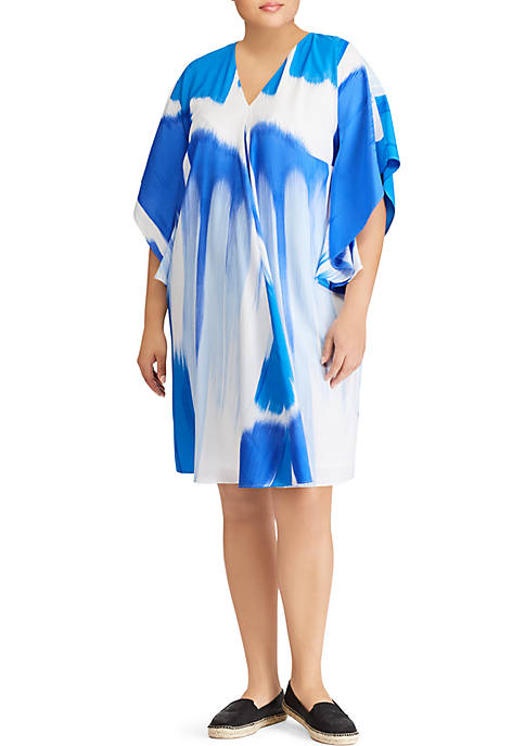 Lauren Ralph Lauren Plus Size Braedyn Casual Dress