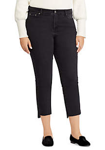Plus Size Regal Straight Ankle Jean