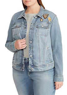 Plus Size Susan Denim Jacket