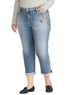 Plus Size Premier Estate Crop Jeans
