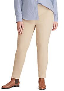 f3778b53d9e ... Lauren Ralph Lauren Plus Size Stretch Twill Skinny Pants
