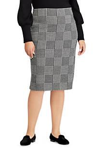 a09d40a20b2c7 Lauren Ralph Lauren. Lauren Ralph Lauren Plus Size Rishona Skirt