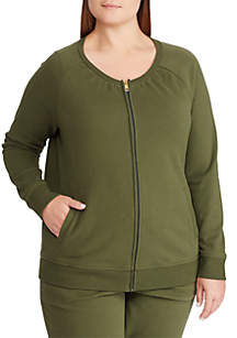 Plus Size Zovky Cotton Jacket