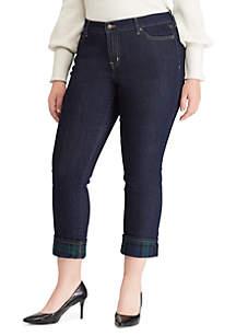 Plus Size Premier Straight Ankle Jean