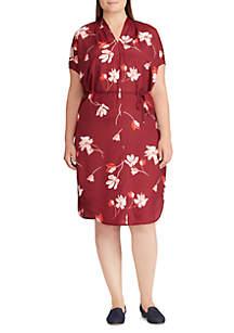 Plus Size Balayna Short Sleeve Casual Dress