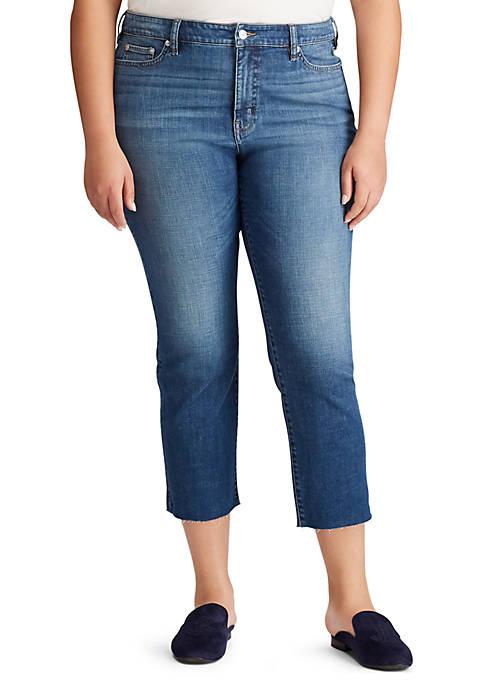 c717feea00da2 Lauren Ralph Lauren Plus Size Regal Straight Ankle