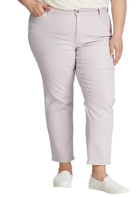 Lauren Ralph Lauren Plus Size Premier Straight Ankle