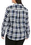 Plus Size Lizbeth Plaid Shirt