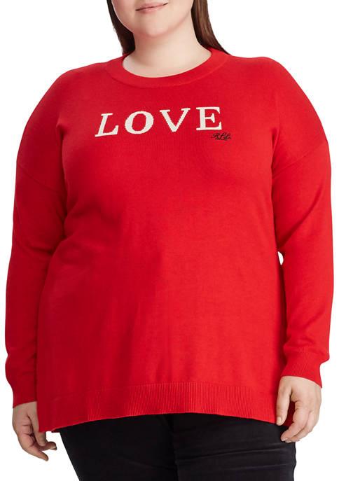 Lauren Ralph Lauren Plus Size Love Knit Cotton