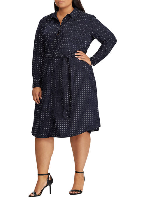 Lauren Ralph Lauren Plus Size Print Long Sleeve
