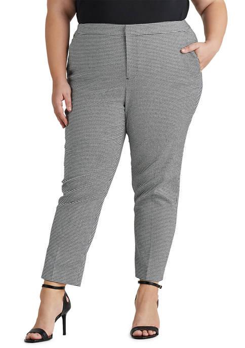 Lauren Ralph Lauren Plus-Size Stretch Cotton Twill Straight