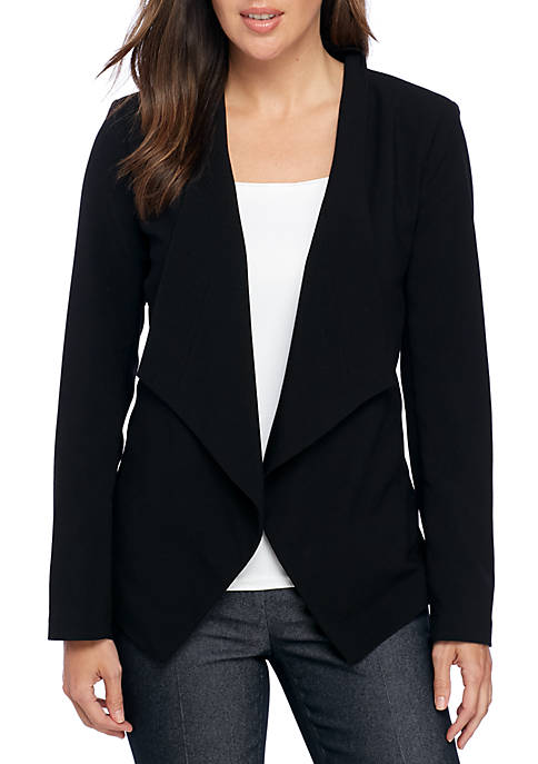 MICHAEL Michael Kors Drape Front Jacket